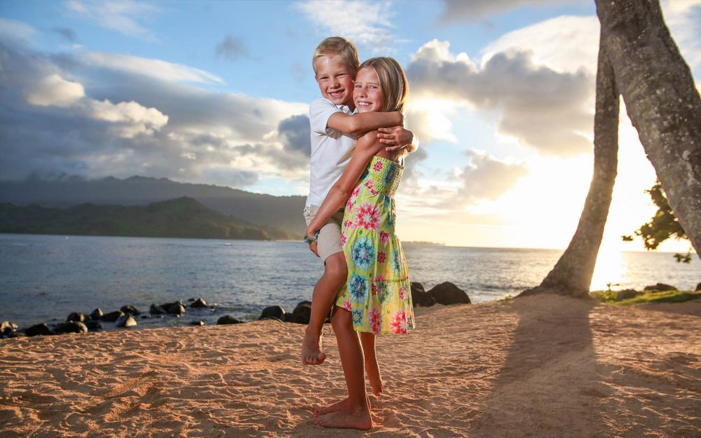 Kids photo shoot Kauai