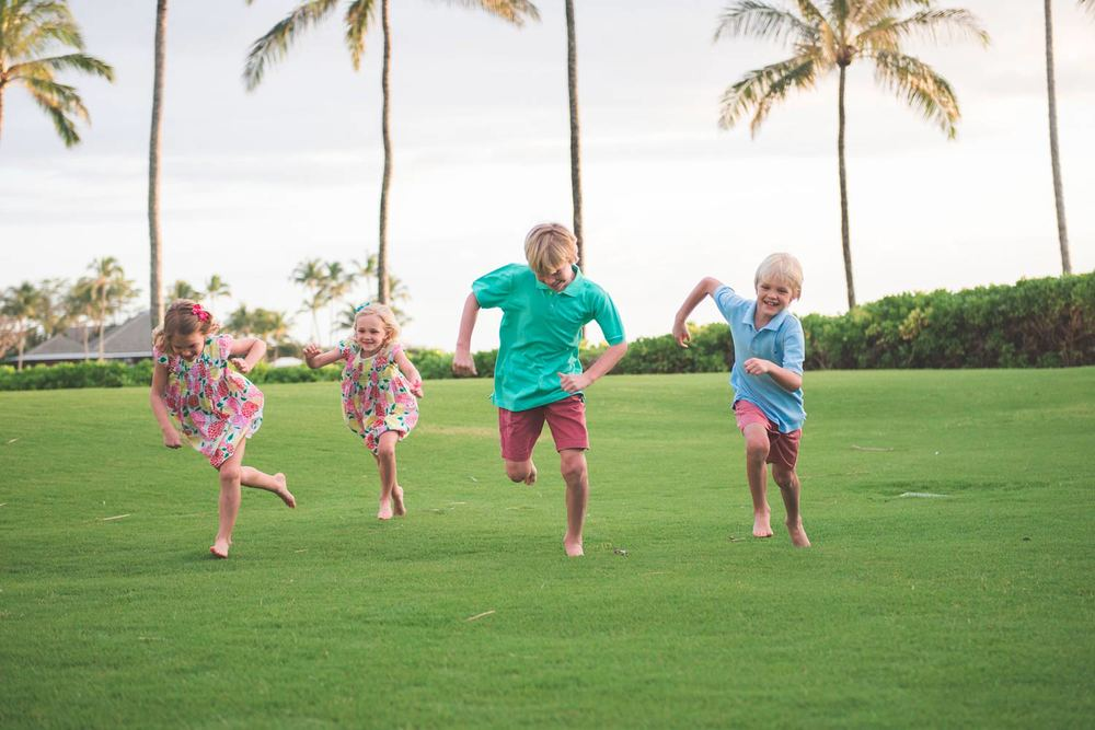 Fun family photography Hawaii