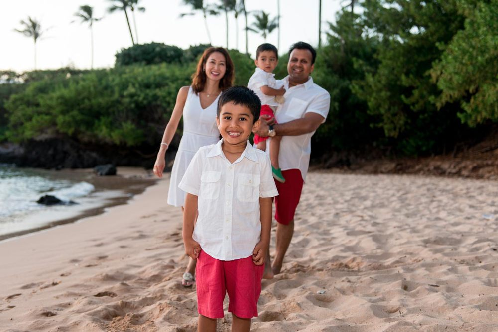 Family photo shoot Lahaina