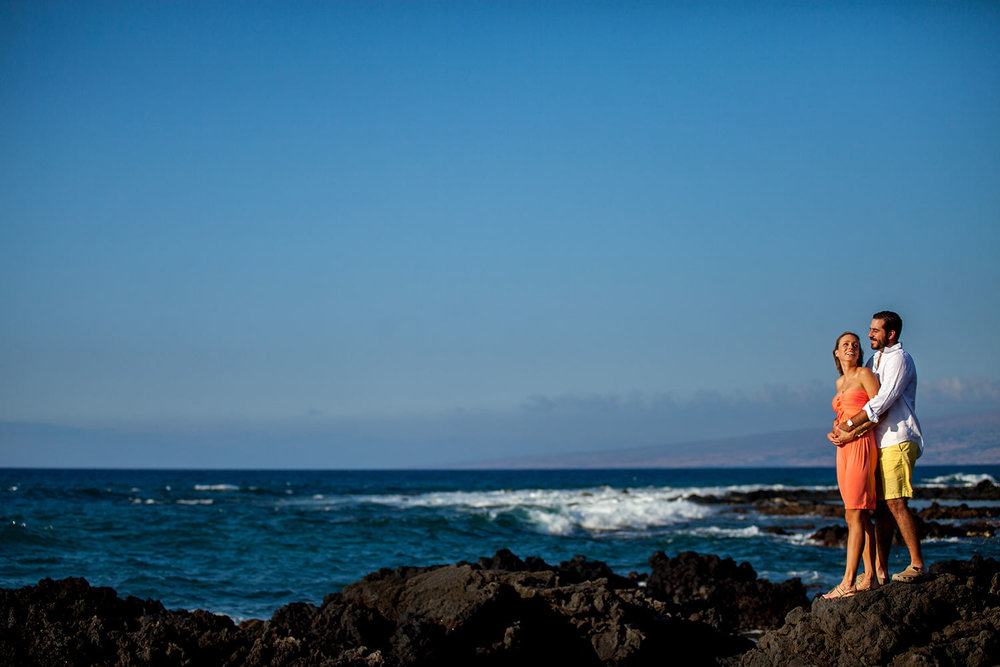 Engagement photography Big Island, Hawaii