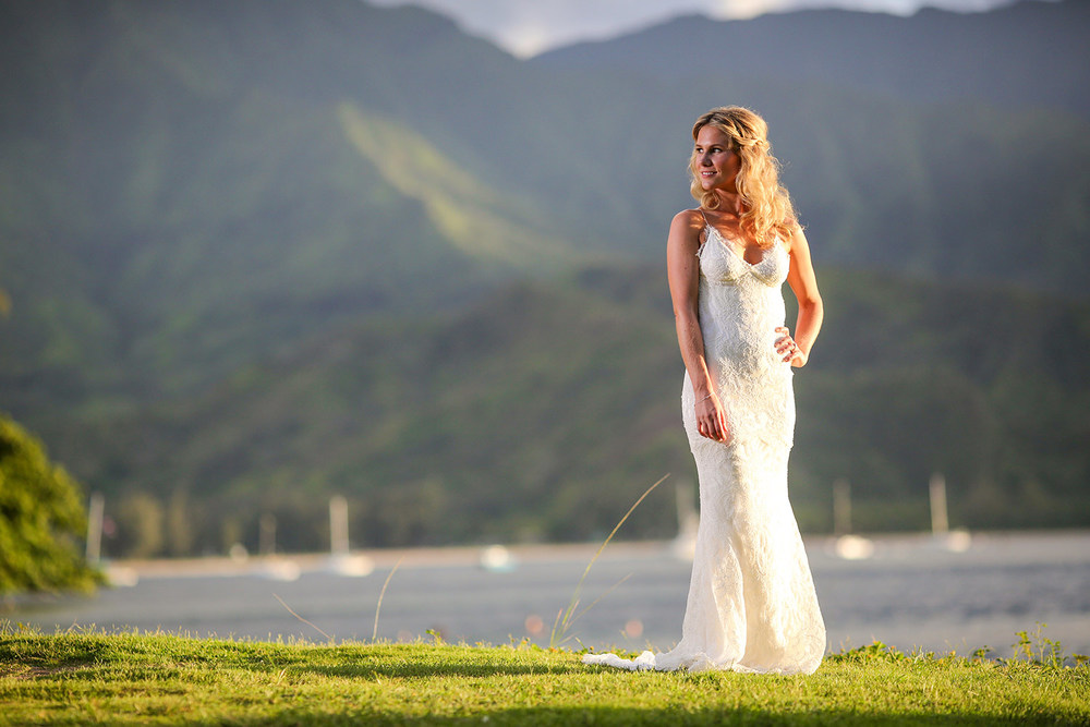 wedding portrait photography kauai