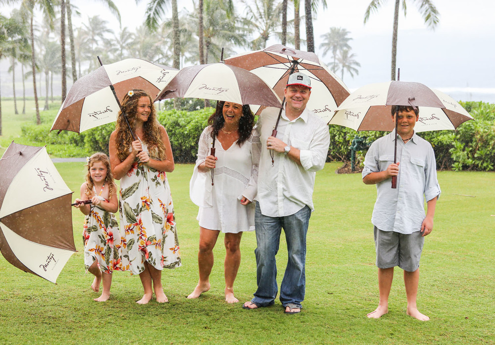 family photo shoot Kauai