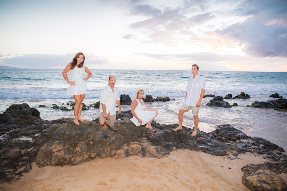 Fun family photo shoot Oahu