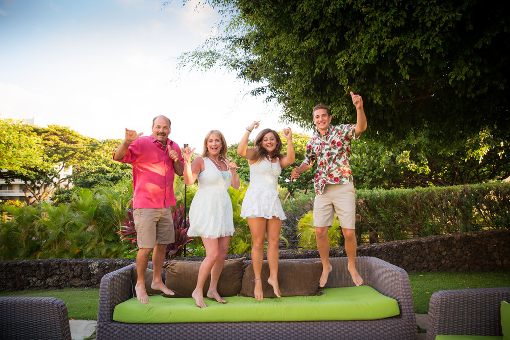 silly family photography Hawaii