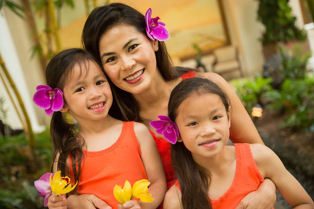 Beautiful family photography Hawaii