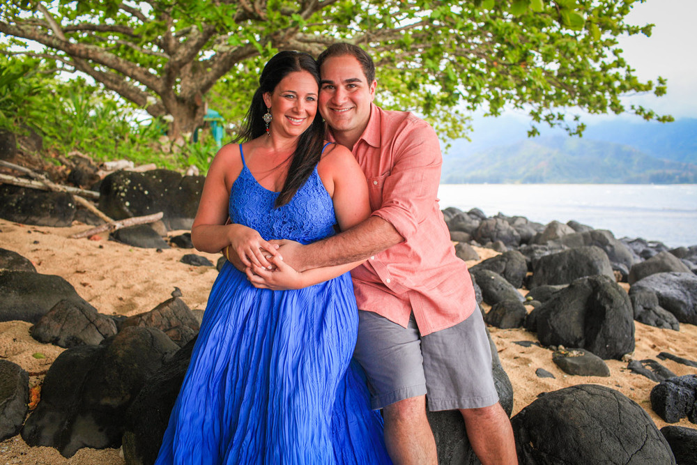 Couple portrait photographer Hawaii