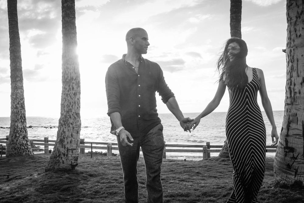 Romantic Couple photography Kauai