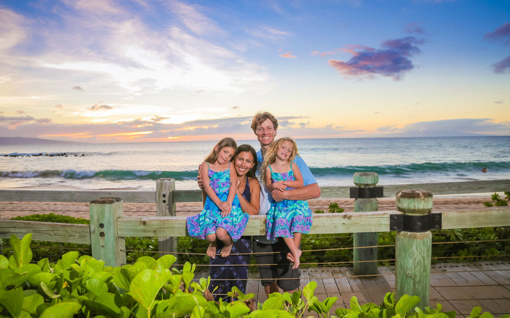 Family photography Maui
