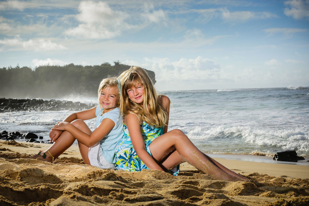 Family photographer Kauai