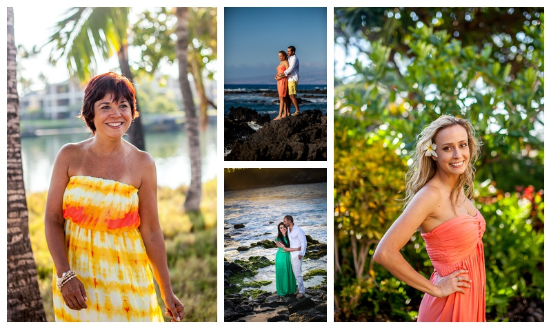 Airy dresses in bright colors look great.
