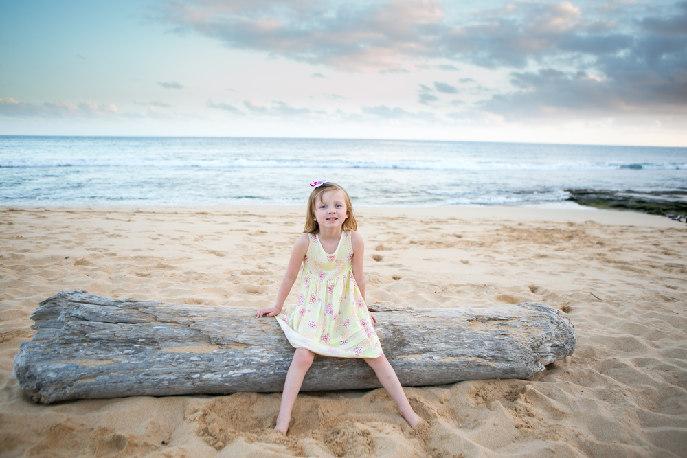 Kids Beach Photography in Hawaii