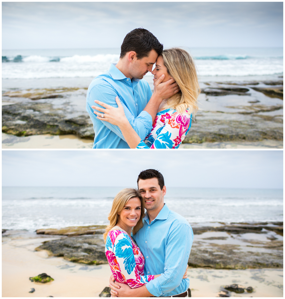 Hawaii Engagement Couple Photography