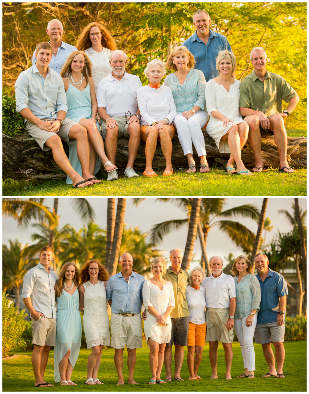 Hawaii Family Portrait Photographer Pacific Dream Photography