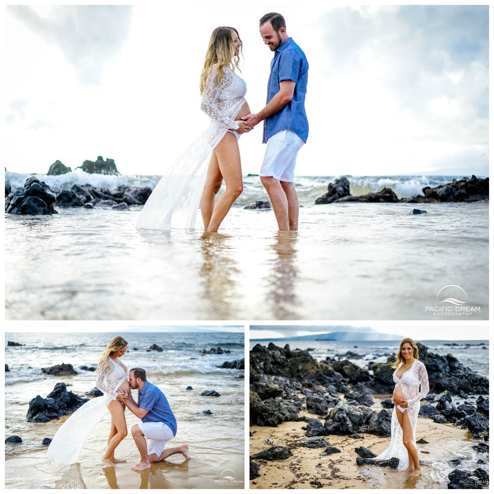 Pacific Dream Photography - Hawaii Photographer - Portrait Photographer - Family Photographer - Kauai Photographer - Babymoon - St Regis kauai