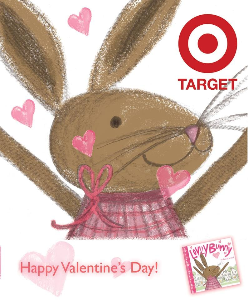 So excited to have my little bun included in Target's 2016 Valentine's Day promotion!