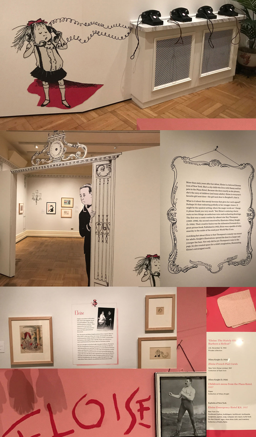 Eloise Exhibit At NY Historical Society