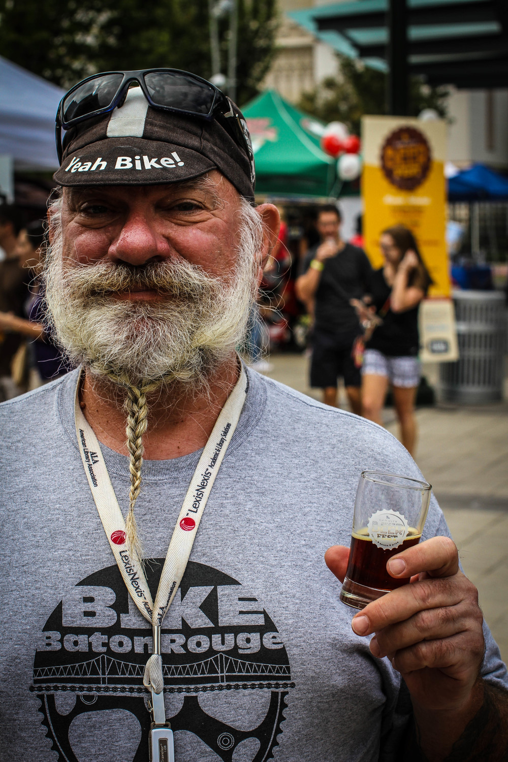 Portraits,  Cap City Beer Fest  by Jeff Roedel.