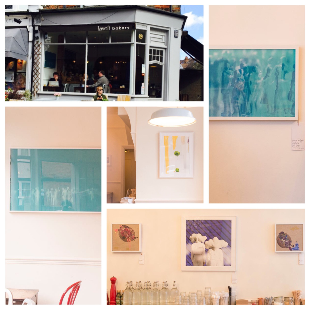 I am currently exhibiting my work at the lovely 'Laveli' Bakery in Chiswick, London. The In-between exhibition with Artist Mayu will run through to the end of April and I will then continue a solo exhibition of works until June. Works will continually change so please make sure and revisit! The café area provides a wonderful space to exhibit my prints and photographs and I hope everyone enjoys seeing them as they relax in the space. If you are not a regular visitor to the bakery please take this opportunity to come along and see the work! Address: 61 South Parade, W4 5LG Nearest Station: Turnham Green or Chiswick Park Times: Monday – Saturday 7:00am – 7:00pm / Sunday 8:00am – 6:30pm