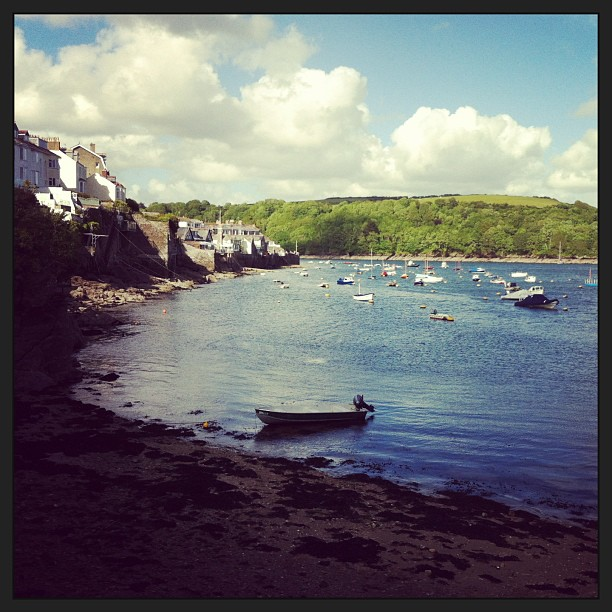 Seaside shots! #fowey #summer