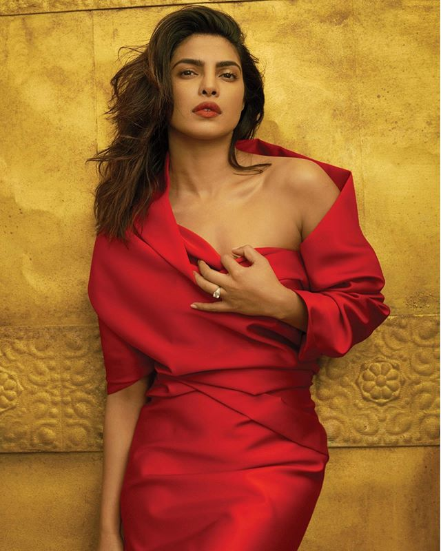 Look who will be on the cover of @voguemagazine's January issue. It's our partner, @priyankachopra! 👀✨🌟