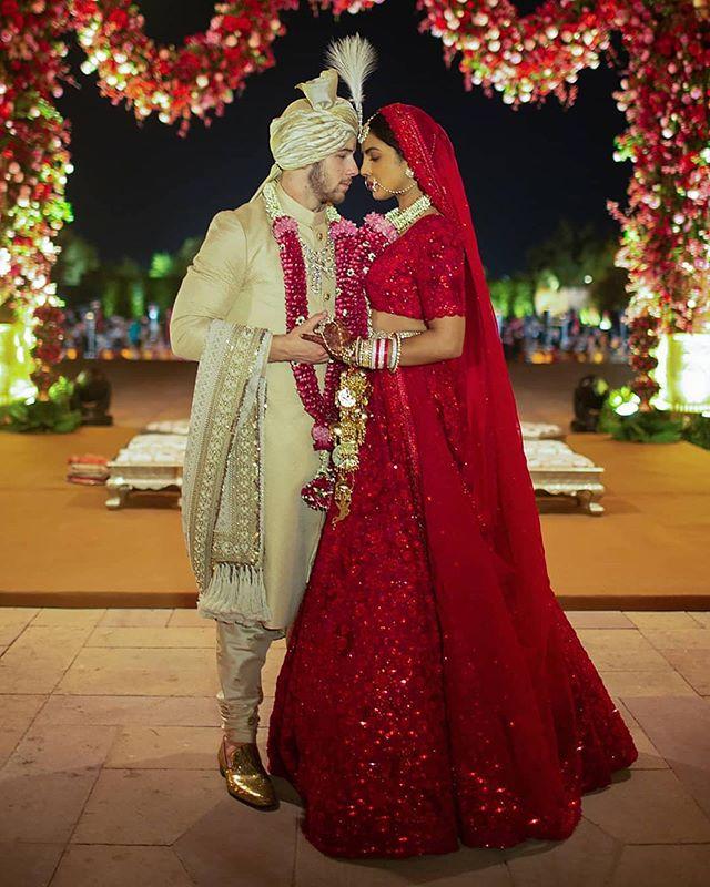 Congrats to our partner @priyankachopra and her new husband @nickjonas on their wedding yesterday! 💍👰🏽🍾