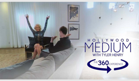 HOLLYWOOD MEDIUM WITH TYLER HENRY X GIGI GORGEOUS 360    E! Marketing. 360-Video. Digital Short.  Medium Tyler Henry reads aspirational, mega-influencer Gigi Gorgeous, in a first ever 360-experience for the series.