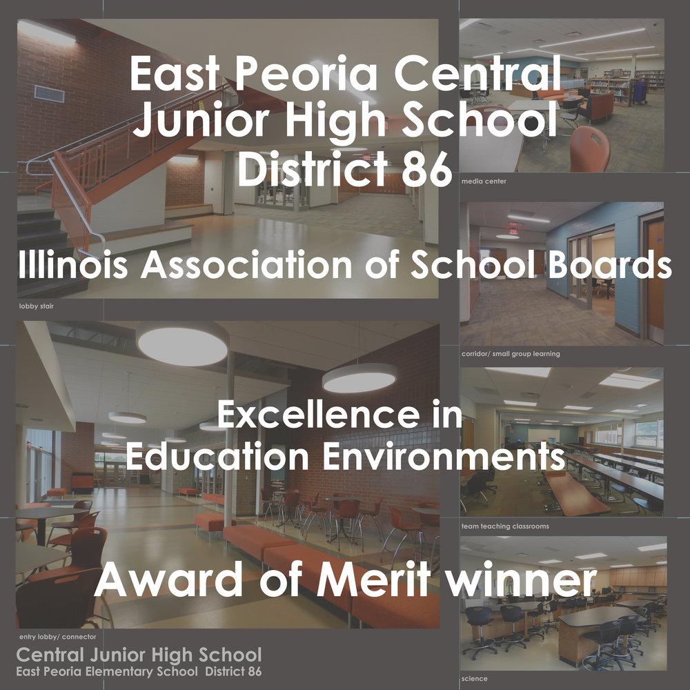 East Peoria Central Junior High : 2016 Award Of Merit Winner!