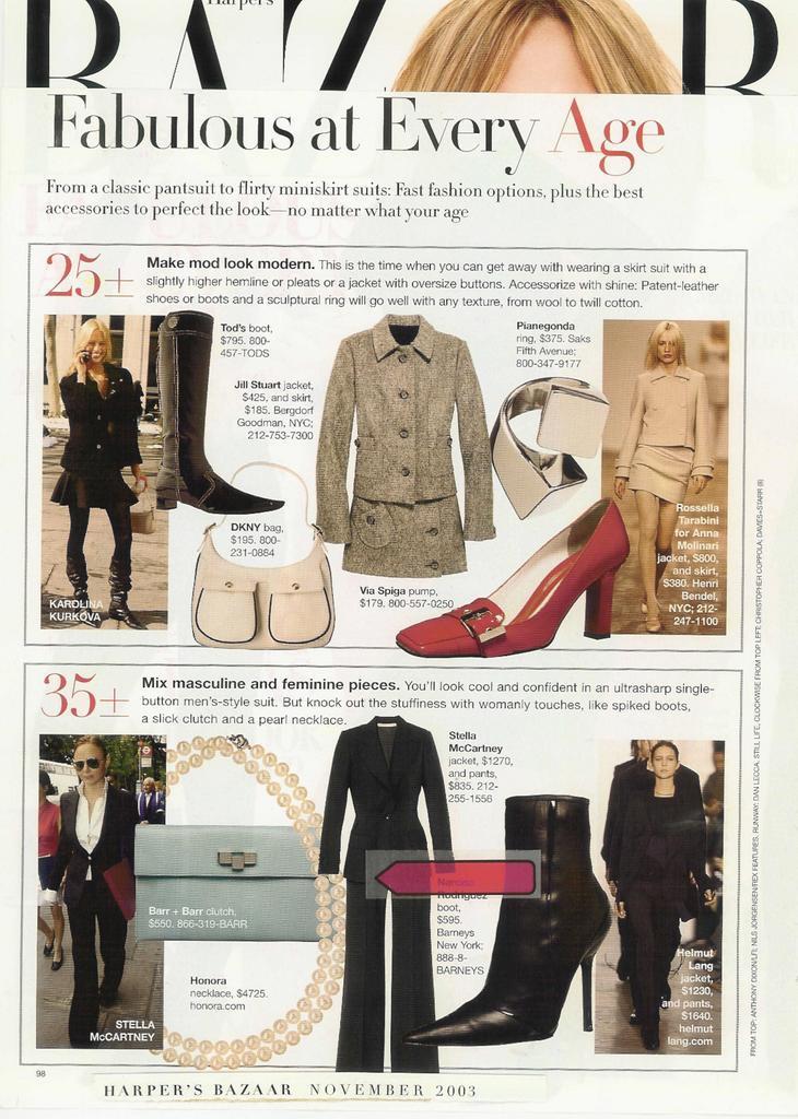 barr + barr luxury handbags and footwear designed by Helen Barr, as seen in Harper's Bazaar