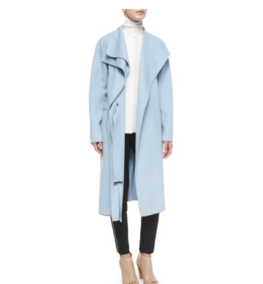 Vince double-face long coat