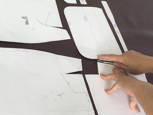 Pattern making by hand
