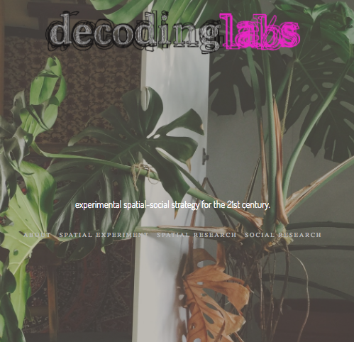 Exp. Design Practice: Decoding Labs   2016-17