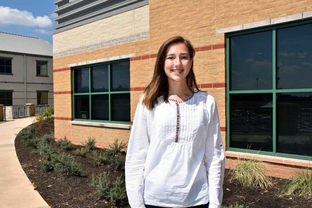 LTHS 9th grader Alyssa Curry