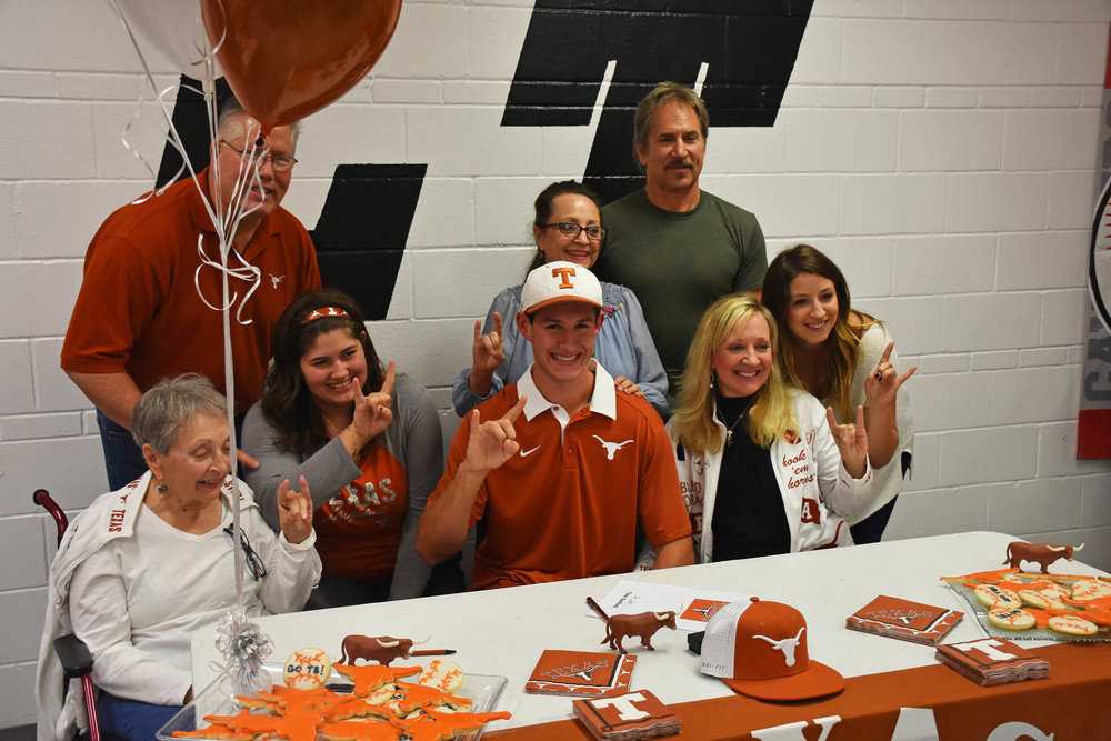 Tate Sandford - Baseball - University of Texas