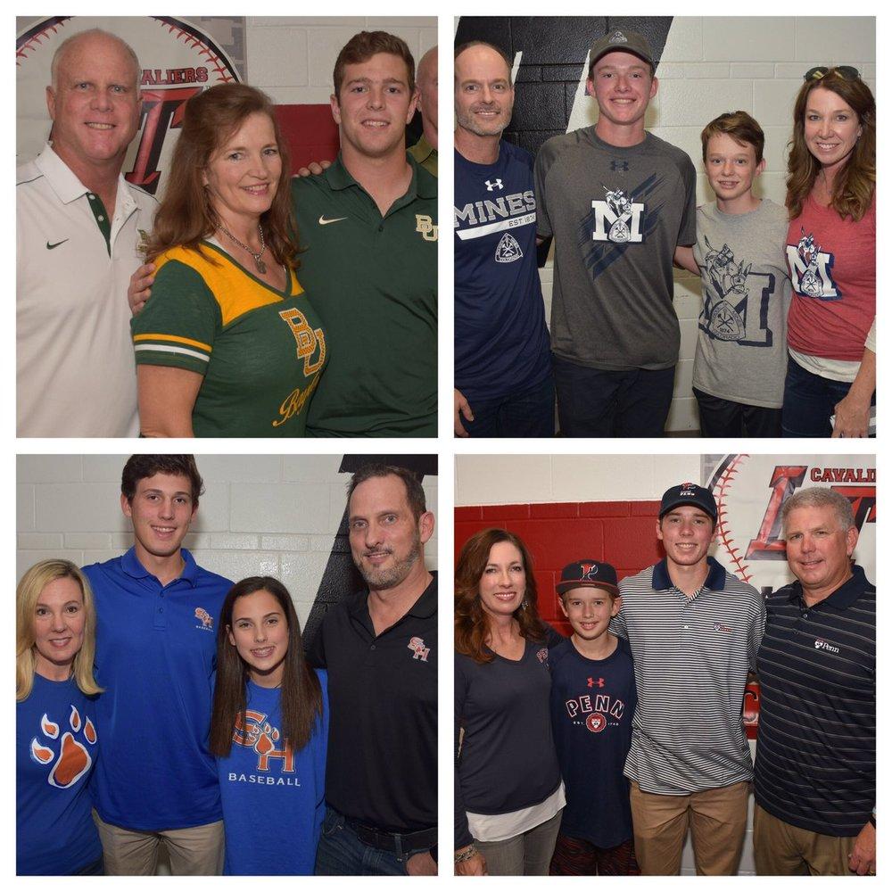 LTHS Baseball Student-Athletes