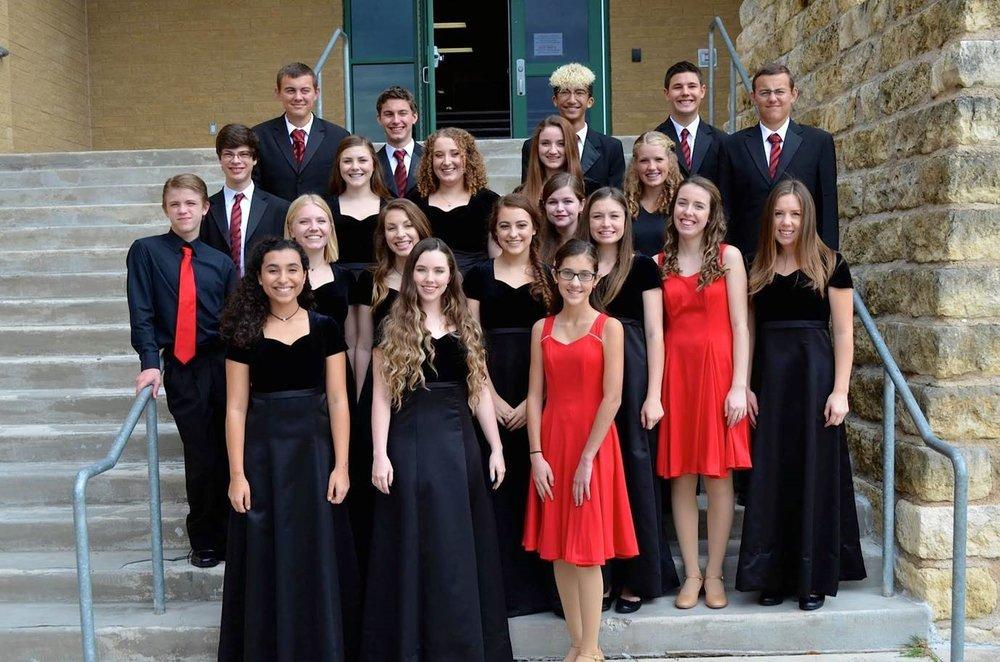 Lake Travis High School Choir All-Region Members
