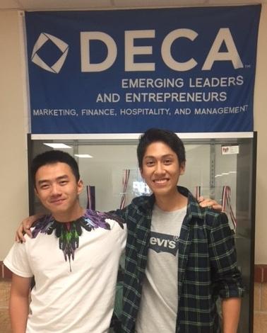 Jason Liu and  Jerzy Ramos Chen