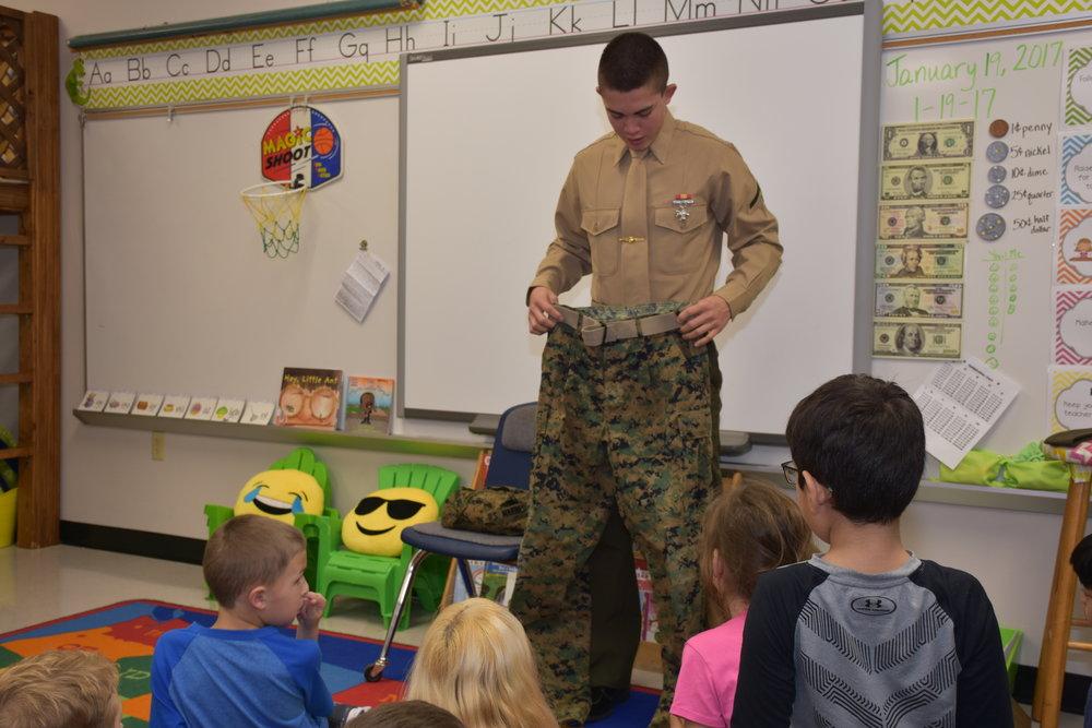 pen pal visits lwe 2nd grade class school matters