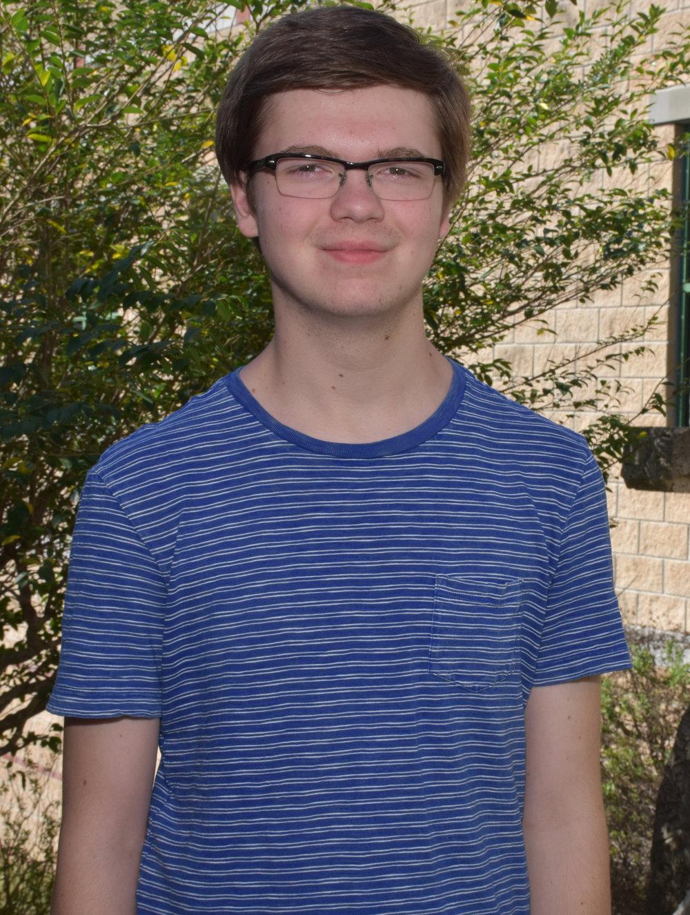 Spencer Buckner,   LTHS Class of 2017 Salutatorian