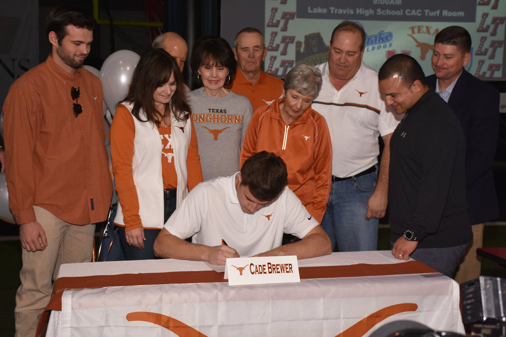 Cade Brewer – University of Texas; Austin, TX