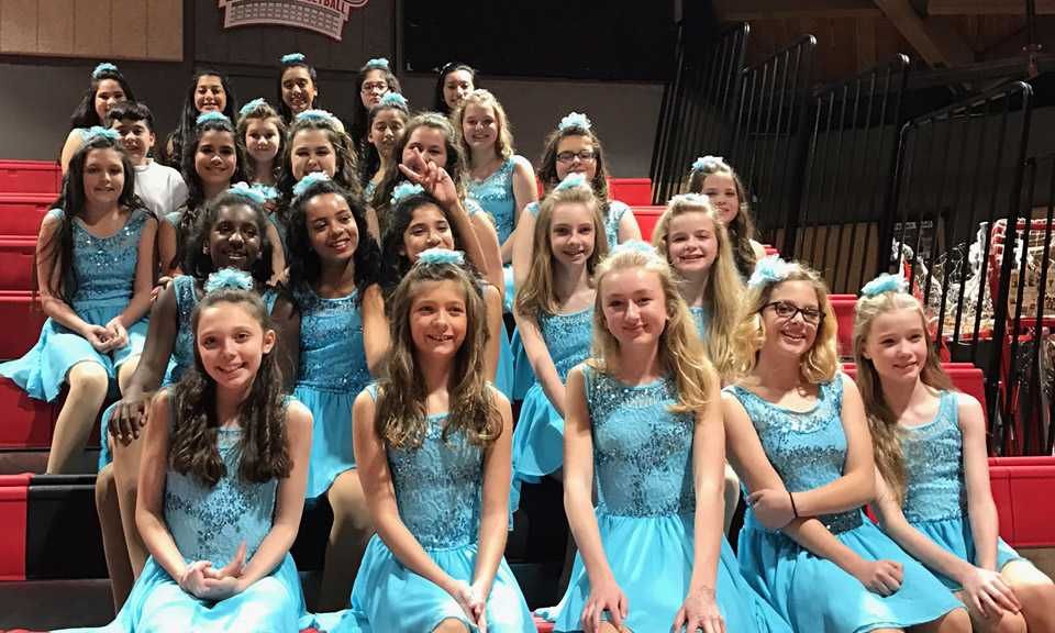 Lake Travis Middle School Winter Guard