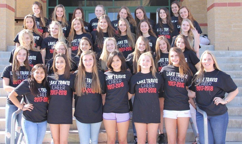 Lake Travis High School Junior Varsity Cheer Squad