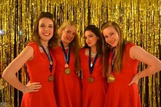 Molly Snodgrass, Abigail Storm, Emma Morelli  and  Sophia Lynn