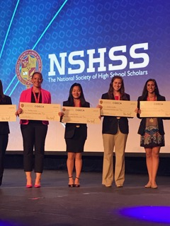 Ntnl. Soc. of HS Scholars Scholarship