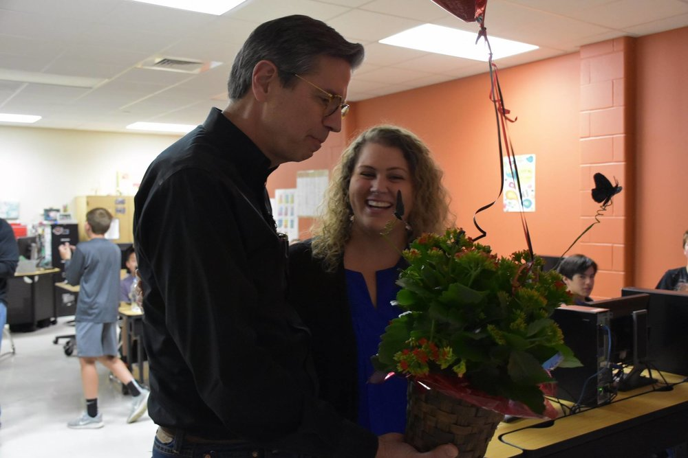 Tanya Henslee surprise visit