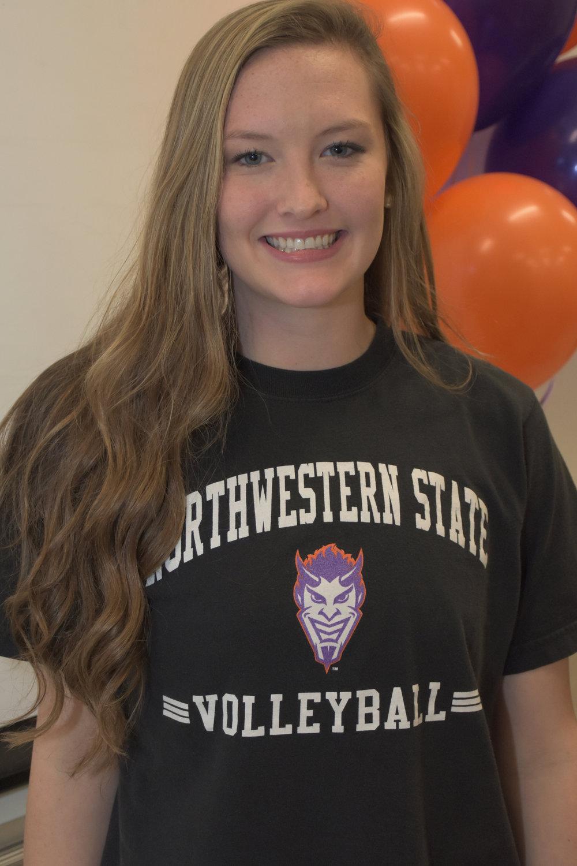 Volleyball:Skylar Besch - Northwestern State University