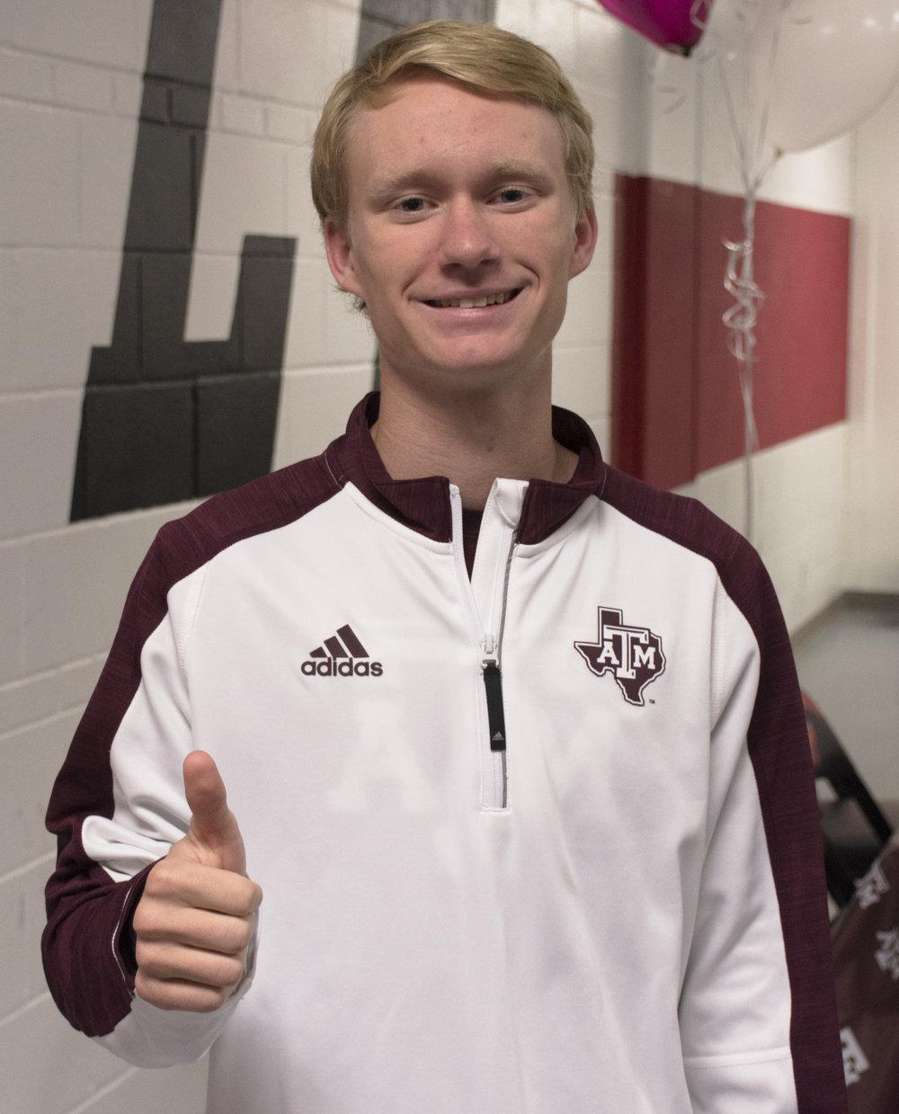 Cross Country/Track:Brady Grant - Texas A&M University