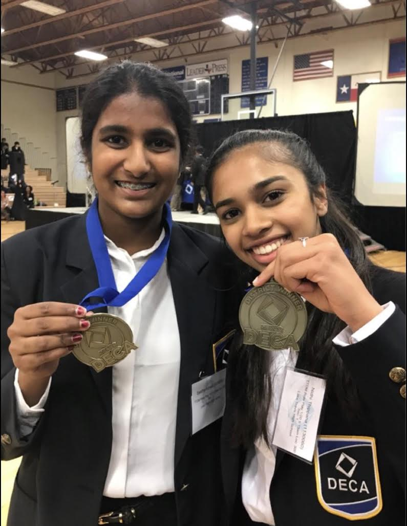 Swetha Ayinala and Nidhi Thippana