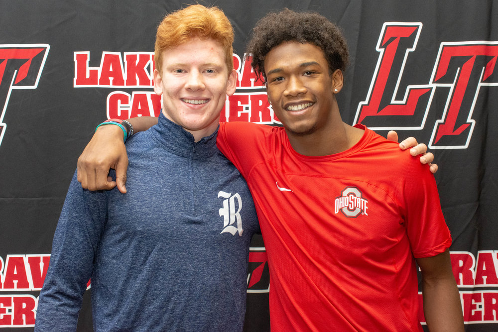 LTHS football student-athletes:  Hunter Henry  – Rice University  Garrett Wilson  - Ohio State University
