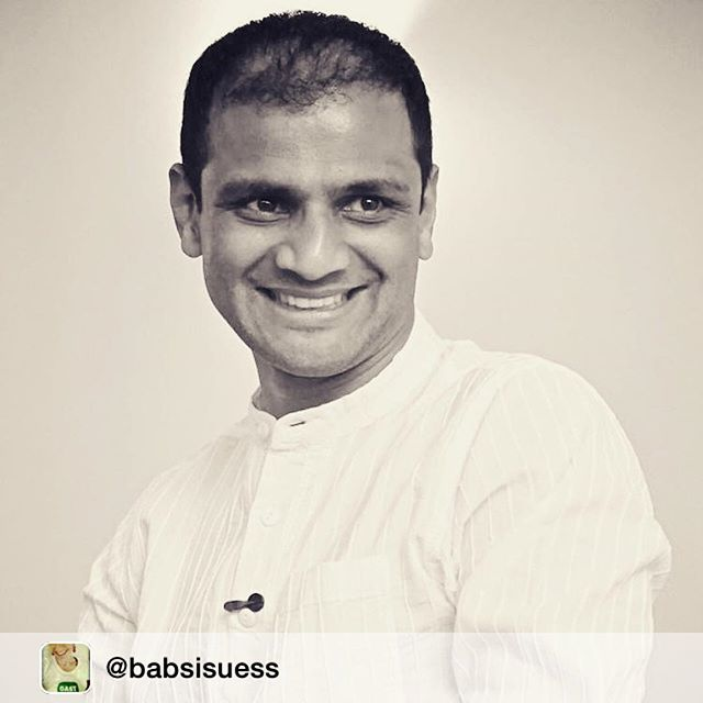 "Repost: ""Do your practice and enjoy it."" #Sharath #gurujiliveshere #ashtanga #parampara #yoga #copenhagen2015 #gratitude ™@babsisuess"