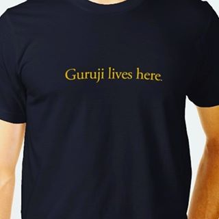 Friends at the Confluence, we have Guruji Lives Here tees for sale in the market place! Proceeds go to a charity Sharath has founded to bring yoga to local children. #gurujiliveshere #ashtangayogaconfluence